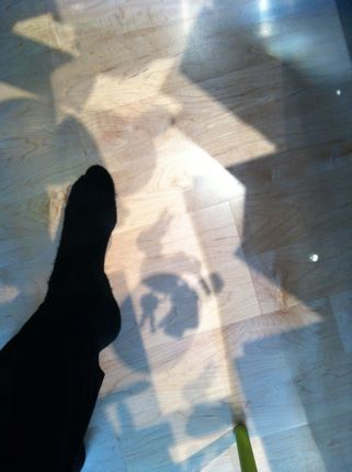 Inspiring Moment: Foot Shadow