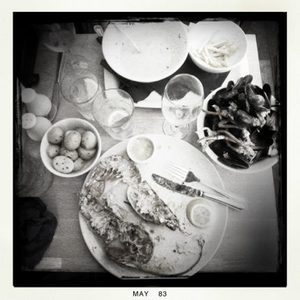 Remains: Seafood lunch